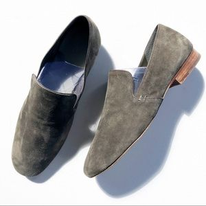 1.STATE WOMEN'S SUEDE LEATHER LOAFERS